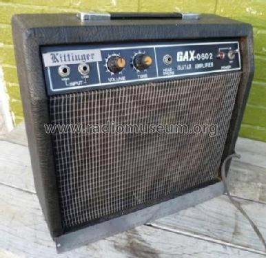 Guitar Amplifier GAX-0602; Unknown - CUSTOM (ID = 1820280) Ampl/Mixer