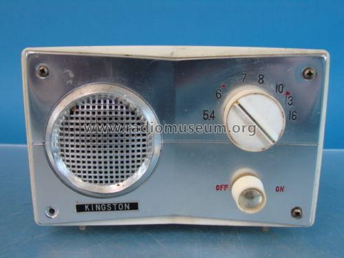 Kingston 5 Tube Table Superheterodyne Radio Radio Unknown -