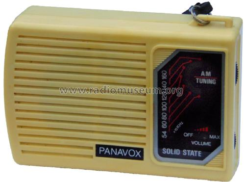 Panavox AM Pocket Radio ; Unknown - CUSTOM (ID = 2446848) Radio