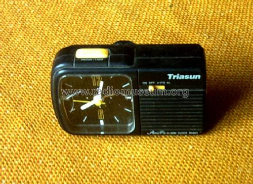 Portable Clock Radio Triasun TU-07; Unknown - CUSTOM (ID = 1666715) Radio