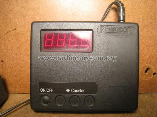 Remocon RF counter; Unknown - CUSTOM (ID = 1955572) Equipment