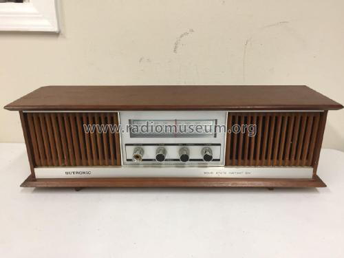 Sutronic 9 transistor Solid State Instant On TR-600; Unknown - CUSTOM (ID = 2309999) Radio