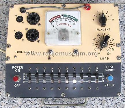 Tube Tester TC-2; Tech Instruments Co. (ID = 124768) Equipment
