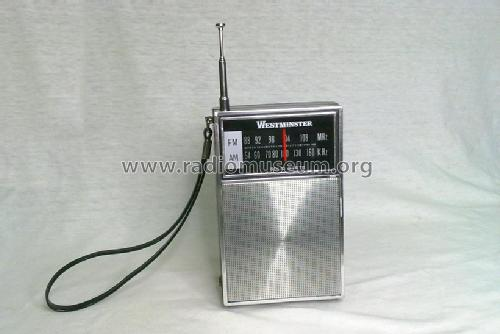 Westminster AM/FM Pocket Radio 1097; Unknown - CUSTOM (ID = 1513778) Radio