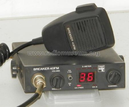CB-Transceiver Breaker 40FM; Unknown Europe (ID = 2456250) Citizen