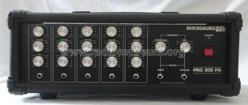 Discosound PRO 205A; Unknown Europe (ID = 1834051) Ampl/Mixer