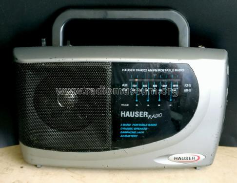 Hauser 2 Band Portable Radio TR-9202; Unknown Europe (ID = 2291755) Radio