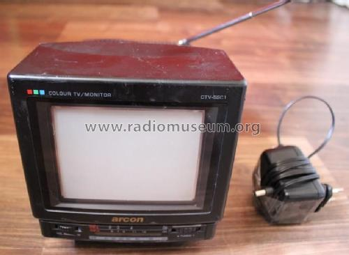 Arcon - Colour TV/ Monitor CTV-5501; Unknown Worldwide (ID = 1711378) Television