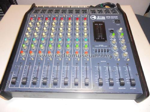 Arrow Electronics Stereo Power Mixer SPM-8240R; Unknown Worldwide (ID = 2170309) Ampl/Mixer