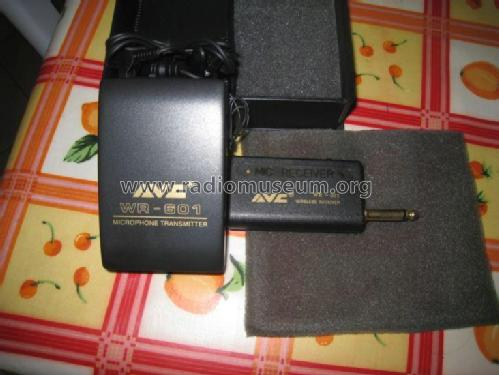 AVC Super Professional Microphone WR-601; Unknown Worldwide (ID = 1756977) Microphone/PU