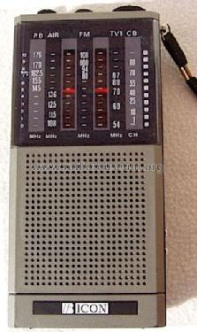B-Icon Multiband Receiver ; Unknown Worldwide (ID = 1170177) Amateur-R