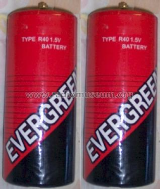 Evergreen Type R40 1,5 V Battery; Unknown Worldwide (ID = 1497192) A-courant