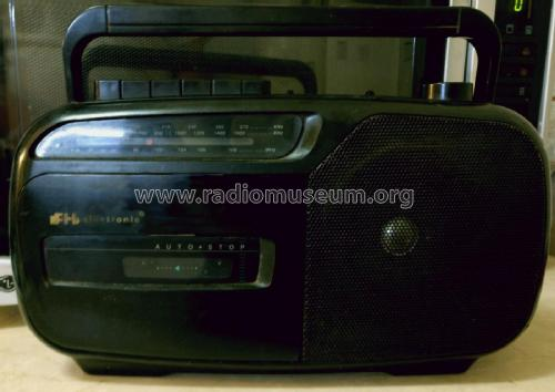 FH electronic Radio Cassette Recorder GW-118B; Unknown Worldwide (ID = 2318213) Radio