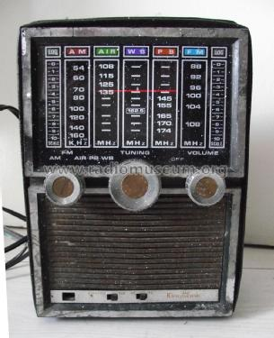 AM-AIR-WB-PB-FM Radio ; KingSonic also King (ID = 1855409) Radio