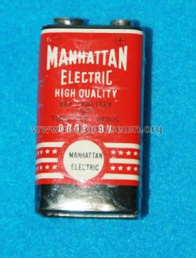 Manhattan Electric High Quality Dry Battery for Transistor Radios 006P 9 V; Unknown Worldwide (ID = 1726992) Power-S