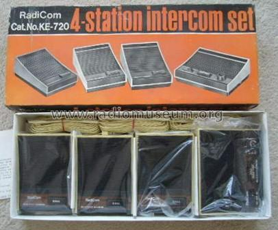 RadiCom - 4-Station Intercom Set Cat. No. KE-720; Unknown Worldwide (ID = 1751063) Misc