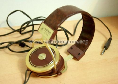 Stereo Headphones Dero D-450; Unknown Worldwide (ID = 2001281) Speaker-P