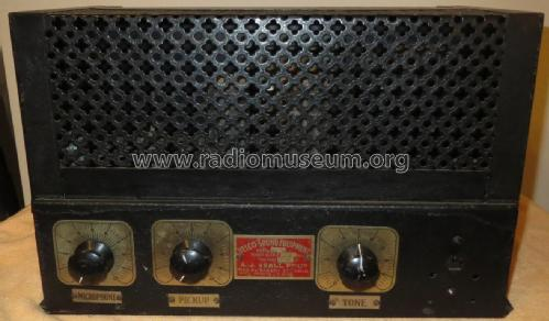 Amplifier Public Address W357; Veall, Arthur J. Pty (ID = 2403636) Ampl/Mixer