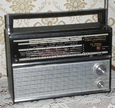 VEF; Riga, Latvia: VEF 202 Radio ID.