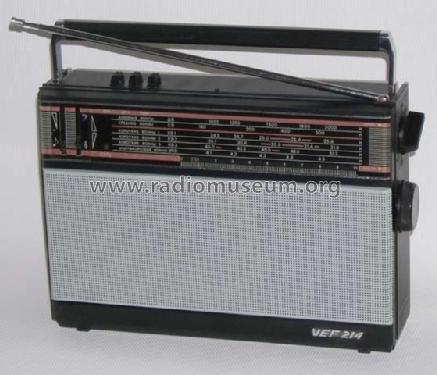 VEF; Riga, Latvia: VEF 214 Radio ID.