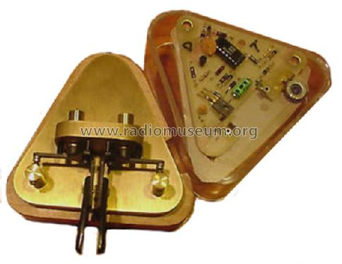Brass Racer EK1 Morse+TTY Vibroplex Co  Inc