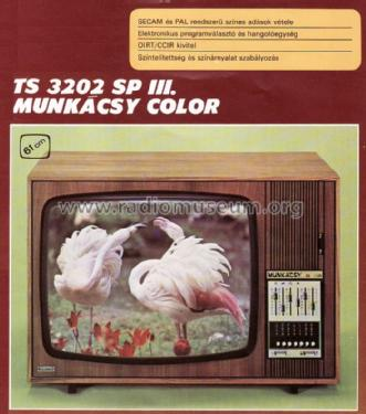 Munkácsy Color TS-3202SP; Videoton; (ID = 709153) Television