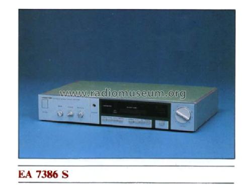 Stereo Amplifier EA7386S; Videoton; (ID = 597886) Ampl/Mixer