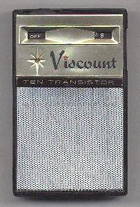 10 Transistor ; Viscount; where? (ID = 269103) Radio
