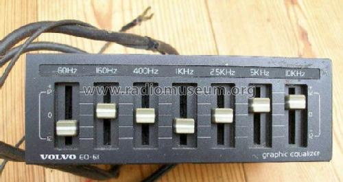 Graphic Equalizer EQ-611; Volvo AB Now Volvo (ID = 1237372) Ampl/Mixer