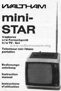 Mini-Star 416 Television Waltham S A , Genf, build 1984, 14