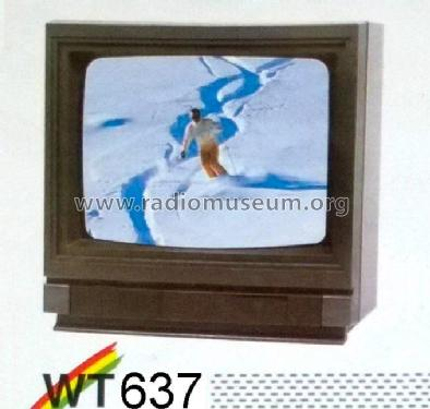 Super Infracolor WT 637; Waltham S.A., Genf (ID = 1993622) Television