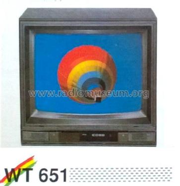 Super Infracolor WT 651; Waltham S.A., Genf (ID = 1993632) Television