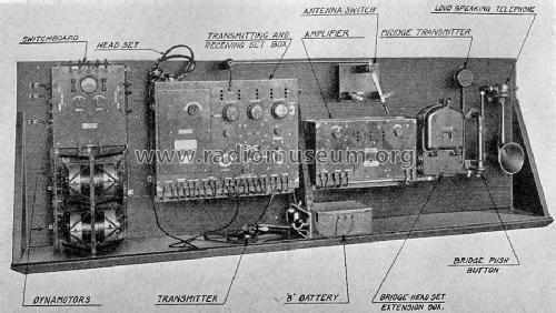 Sub-Chaser Radiotelephone Set CW-936; Western Electric (ID = 1060725) Commercial TRX