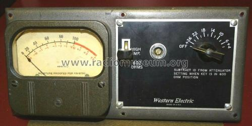 Volume Indicator 752B; Western Electric (ID = 2637696) Misc