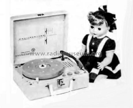 ED-2 Saranade Doll 'Brunette' ; Westinghouse El. & (ID = 183601) R-Player