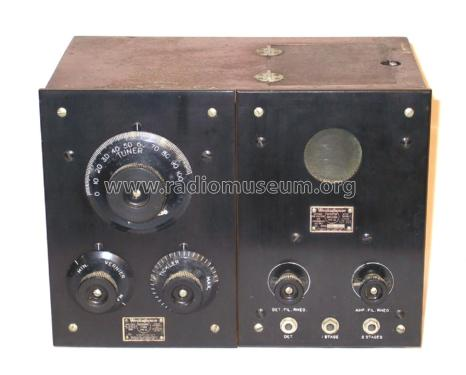 Short Wave Regenerative Receiver RC ch= RA+DA; Westinghouse El. & (ID = 2350458) Radio