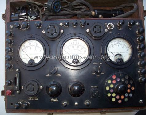 Radio Test Set and Tube Checker 565 Equipment Weston Electri