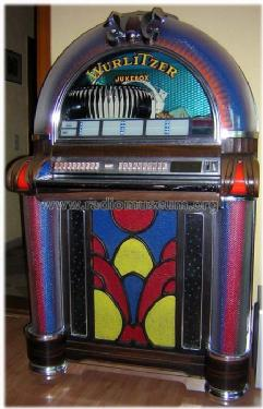 Jukebox 1050 r player wurlitzer co the rudolph build