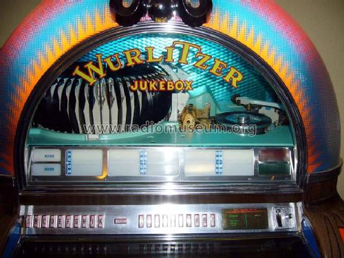 Jukebox 1050 R-Player Wurlitzer Co , The Rudolph, build