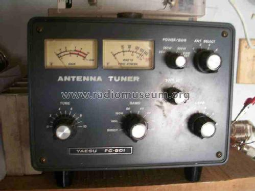 Antenna Tuner FC-901; Yaesu-Musen Co. Ltd. (ID = 1021564) Amateur-D