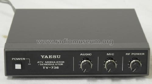 ATV Modulator/Demodulator TV-736; Yaesu-Musen Co. Ltd. (ID = 1332594) Amateur-D