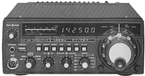 FT-707; Yaesu-Musen Co. Ltd. (ID = 589588) Amateur