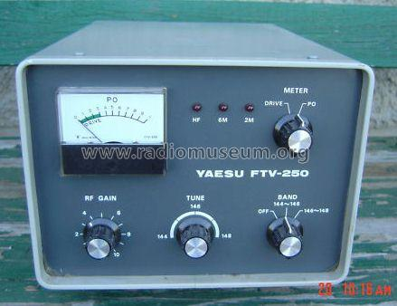 Two Meter Transverter FTV-250 Converter Yaesu-Musen Co  Ltd