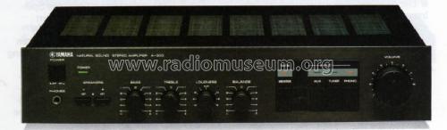 A on Yamaha 300 Mixer Schematic