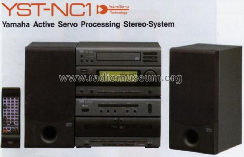 Active Servo Processing Stereo System YST-NC1; Yamaha Co.; (ID = 1068735) Radio