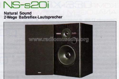 natural sound 2 wege ba reflex lautsprecher speaker p yamaha. Black Bedroom Furniture Sets. Home Design Ideas