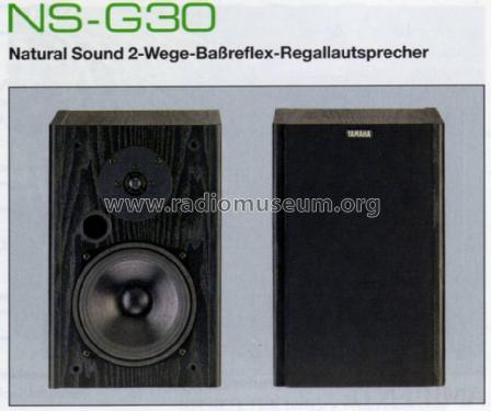 Natural Sound 2-Wege- Baßreflex-Regallautsprecher NS-G30 Spe