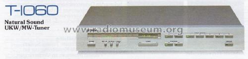 Natural Sound AM/FM Stereo Tuner T-1060; Yamaha Co.; (ID = 996136) Radio