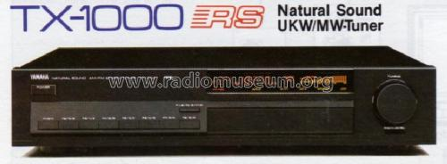 Natural Sound AM/FM Stereo Tuner TX-1000; Yamaha Co.; (ID = 1039562) Radio