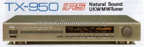 Natural Sound AM/FM Stereo Tuner TX-950; Yamaha Co.; (ID = 1062506) Radio